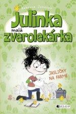 Julinka malá zverolekárka Jasličky na farme