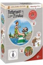 Pettersson & Findus Starterbox. Tl.2, 3 DVDs