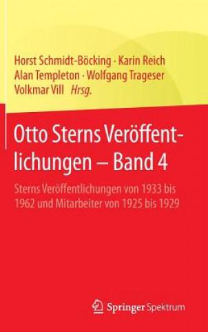 Otto Sterns Veroeffentlichungen - Band 4