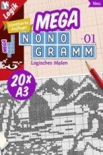 Mega-Nonogramm, 20 Bde.. Bd.1