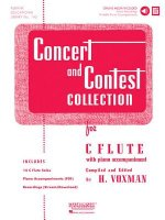 Concert and Contest Collection for C Flute - Book/CD Pack