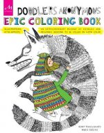 Doodler Anonymous Epic Coloring Book