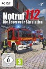 Notruf 112, Die Feuerwehr-Simulation, 1 DVD-ROM