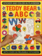 Sticker and Colour-in Playbook: Teddy Bear ABC