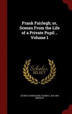 Frank Fairlegh; Or, Scenes from the Life of a Private Pupil .. Volume 1