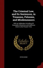 Criminal Law, and Its Sentences, in Treasons, Felonies, and Misdemeanors