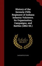 History of the Seventy-Fifth Regiment of Indiana Infantry Volunteers