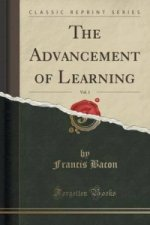 Advancement of Learning, Vol. 1 (Classic Reprint)