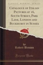 Catalogue of Italian Pictures at 16, South Street, Park Lane, London and Buckhurst in Sussex (Classic Reprint)