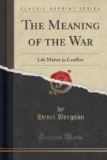 Meaning of the War