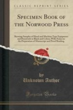 Specimen Book of the Norwood Press