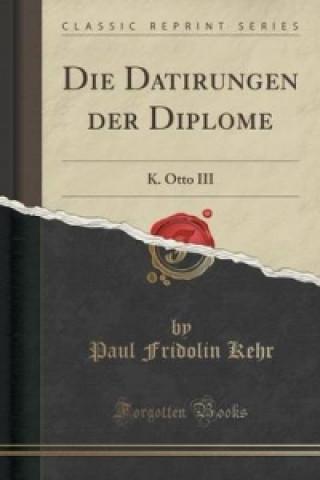 Datirungen Der Diplome