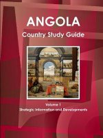 Angola Country Study Guide Volume 1 Strategic Information and Developments