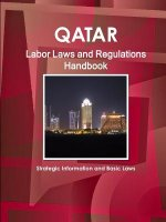 Qatar Labor Laws and Regulations Handbook - Strategic Information and Basic Laws