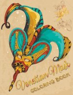 Venetian Mask Coloring Book