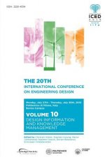Proceedings of the 20th International Conference on Engineering Design (Iced 15) Volume 10
