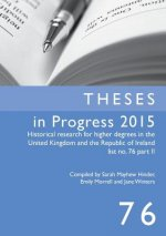Theses in Progress 2015