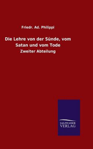 Lehre Von Der Sunde, Vom Satan Und Vom Tode