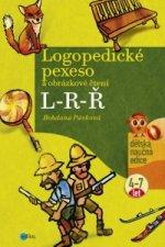Logopedické pexeso a obrázkové čtení L-R-Ř