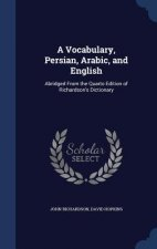 Vocabulary, Persian, Arabic, and English
