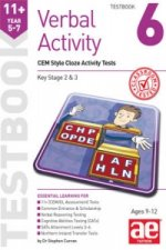 11+ Verbal Activity Year 5-7 Testbook 6: CEM Style Cloze Activity Tests