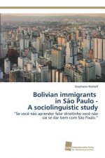 Bolivian Immigrants in Sao Paulo - A Sociolinguistic Study