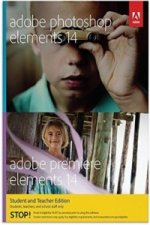 Adobe Photoshop & Premiere Elements 14, Student and Teacher Edition, DVD-ROM