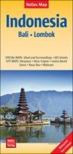 Nelles Map Landkarte Indonesia : Bali, Lombok