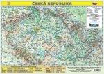 Česká republika Mapa A3 lamino