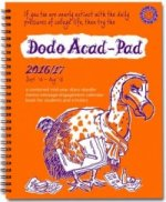 Dodo Acad-Pad 2016 - 2017 Mid Year Desk Diary, Academic Year, Week to View
