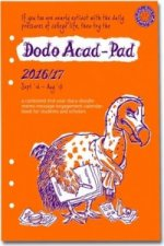 Dodo Acad-Pad 2016 - 2017 Filofax-Compatible A5 Organiser Diary Refill, Mid Year / Academic Year, Week to View