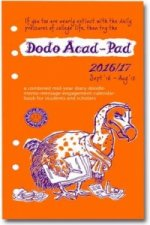 Dodo Acad-Pad 2016 - 2017 Filofax-Compatible Personal Organiser Diary Refill Mid Year / Academic Year, Week to View