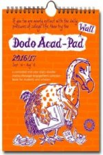 Dodo Wall Acad-Pad 2016 - 2017 Mid Year Calendar, Academic Year, Week to View