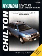 Hyundai Santa Fe Service and Repair Manual 2001-12
