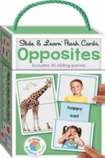 Building Blocks Slide & Learn Flashcards Opposites (UK Eng)