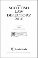 Scottish Law Directory: The White Book 2016