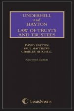 Underhill and Hayton Law of Trusts and Trustees