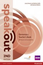 Speakout Elementary 2nd Edition Teacher's Guide with Resource & Assessment Disc Pack