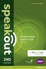Speakout Pre-Intermediate 2nd Edition Students' Book with DVD-ROM and MyEnglishLab Access Code Pack