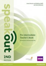 Speakout Pre-Intermediate 2nd Edition Teacher's Guide with Resource & Assessment Disc Pack