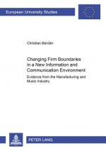 Changing Firm Boundaries in a New Information and Communication Environment