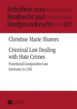 Criminal Law Dealing with Hate Crimes