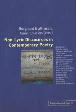 Non-Lyric Discourses in Contemporary Poetry