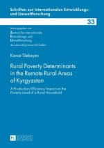Rural Poverty Determinants in the Remote Rural Areas of Kyrgyzstan