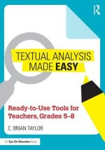 TEXTUAL ANALYSIS MADE EASY TAYLOR