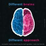 Different Brains, Different Approach