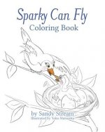 Sparky Can Fly - Coloring Book