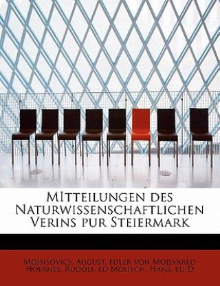 Mitteilungen Des Naturwissenschaftlichen Verins Pur Steiermark