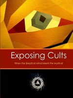 Exposing Cults: When the Skeptical Mind Meets the Mystical