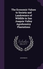 Economic Values to Society and Landowners of Wildlife in San Joaquin Valley Agroforestry Plantations